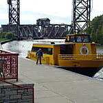 Water Taxi Terminal Chicago, USA